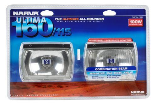 Driving Light 160/115 12V/100W ~Combo Rect (71622)-0