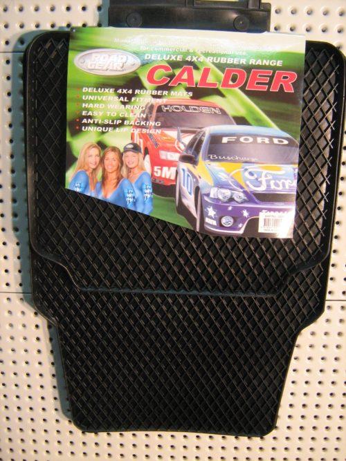Floor Mats Deluxe 4x4 Rubber Calder Set-4-0
