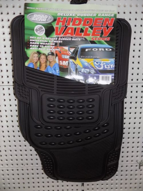 Floor Mats Car Rubber Hidden Valley Set-4-0