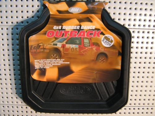 Floor Mats 4x4 Rubber Range Outback Rear Set-2-0