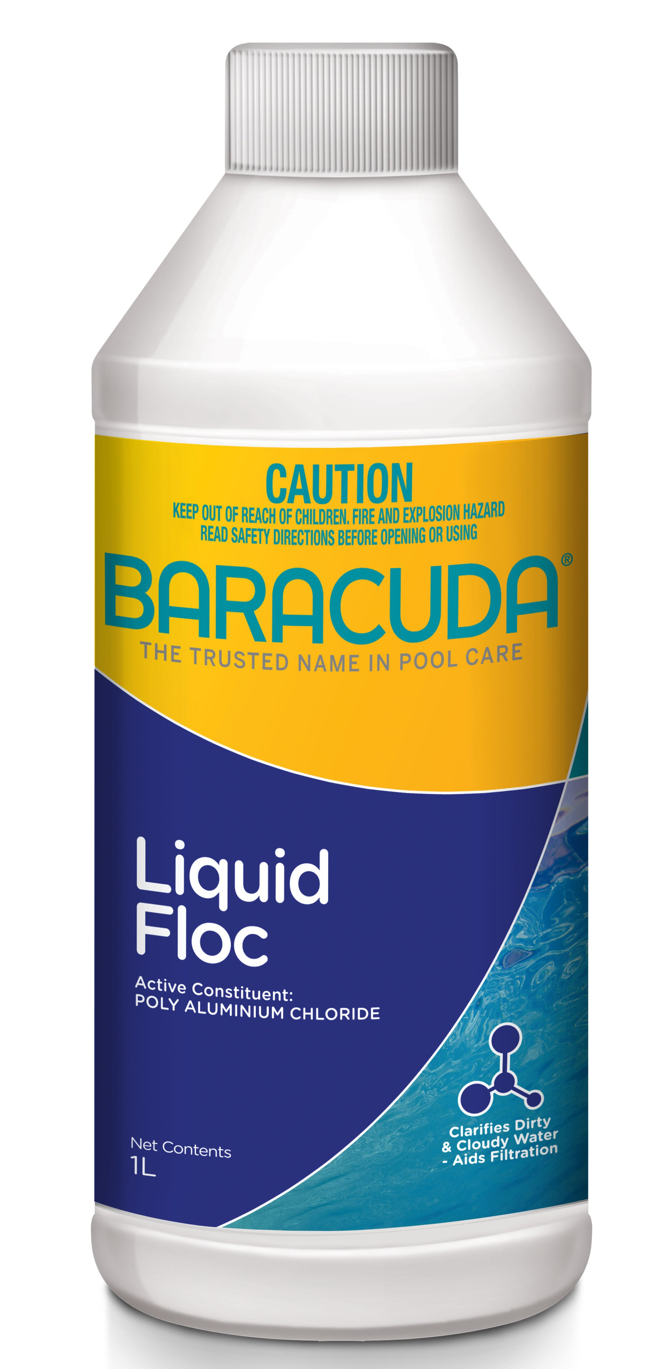 Baracuda Liquid Floc 1L-0