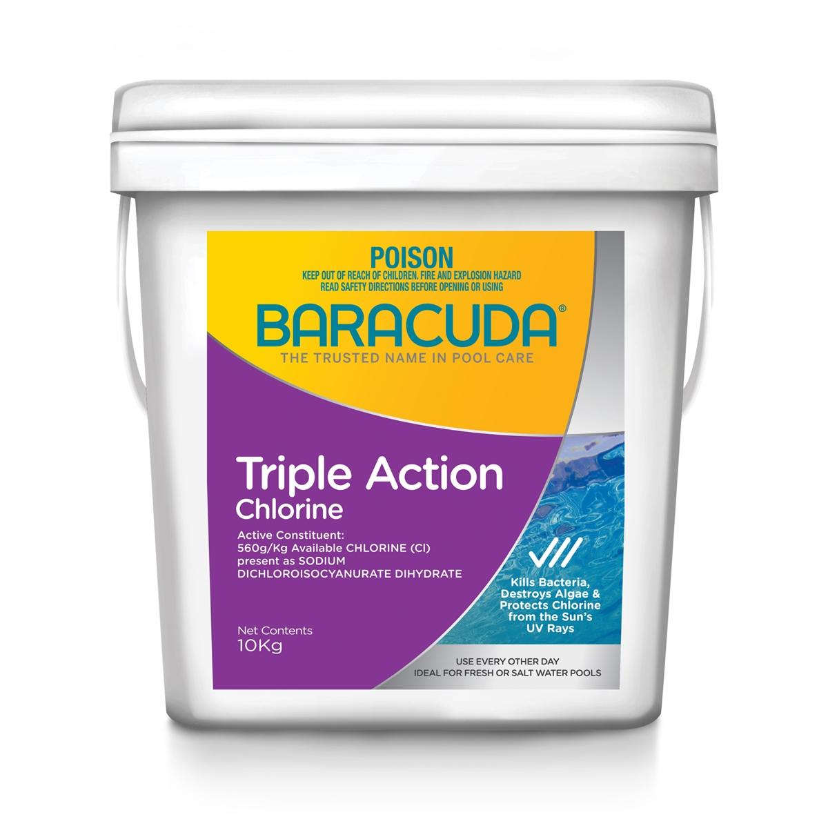 Baracuda Triple Action Chlorine 10kg-0