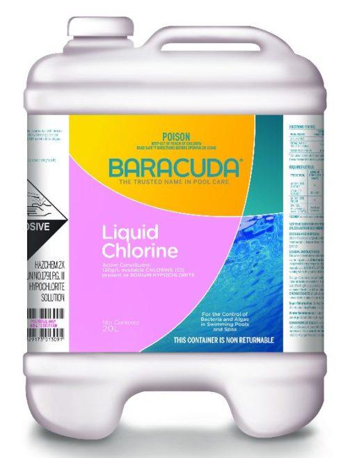Baracuda Liquid Pool Chlorine 20L-0