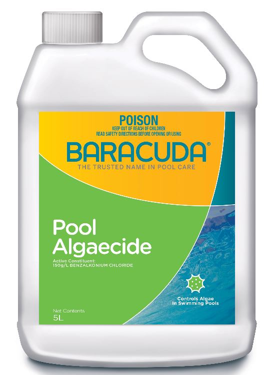 Baracuda Pool Algaecide 5L-0
