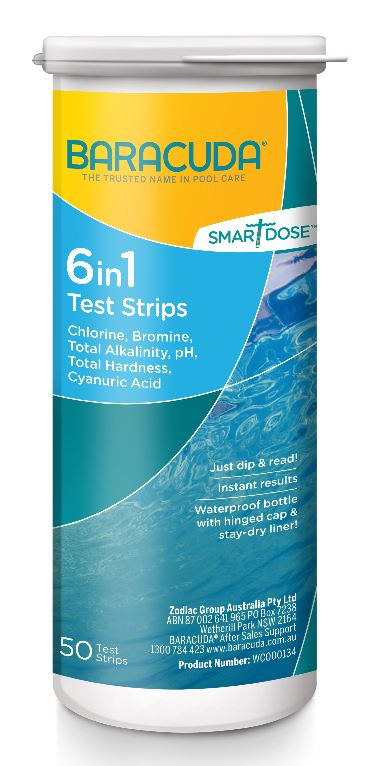 Baracuda SmartDose Test Strips 6 in 1-0