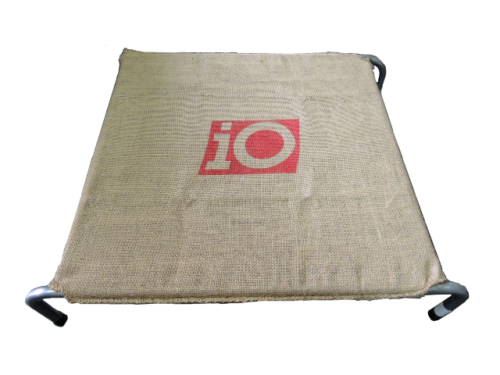 Dog Bed Hessian Small 690mm x 690mm-0