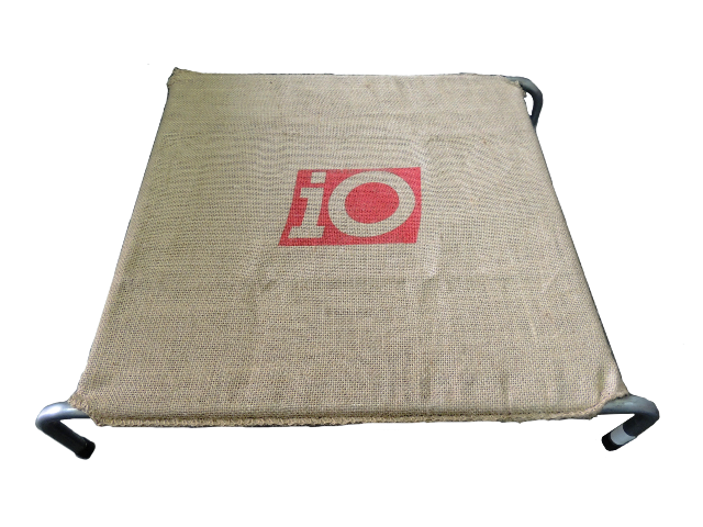 Dog Bed Hessian Large 1000mm x 690mm-0